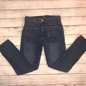 Woman's High Waist Seven for all mankind Jeans 27
